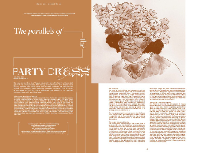 The parallels of the Party Dress