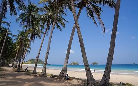 Nacpan Beach, El Nido