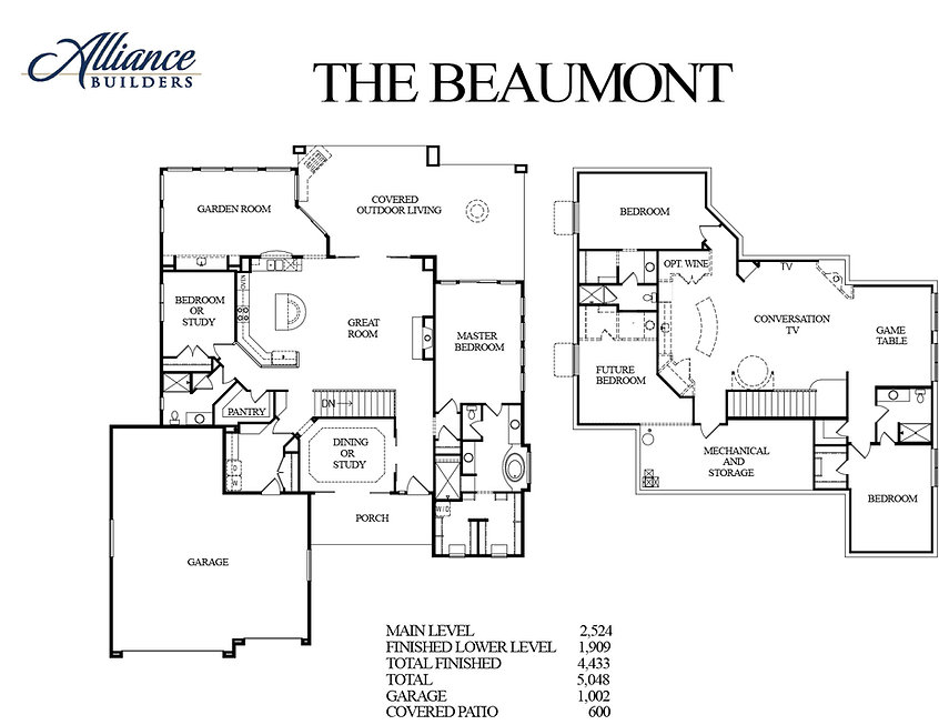 The Beaumont Floor Plan Flyer - 2.9.18.j
