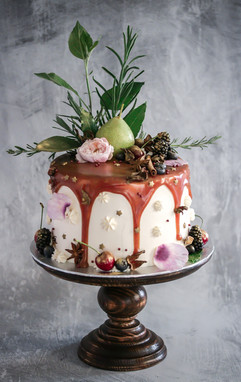 Toffee Pear Birthday Cake Tortology E17 Artisan Cakes London