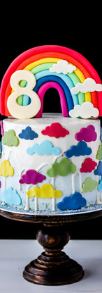 Rainbow Birthday Cake Tortology E17 Artisan Cakes London