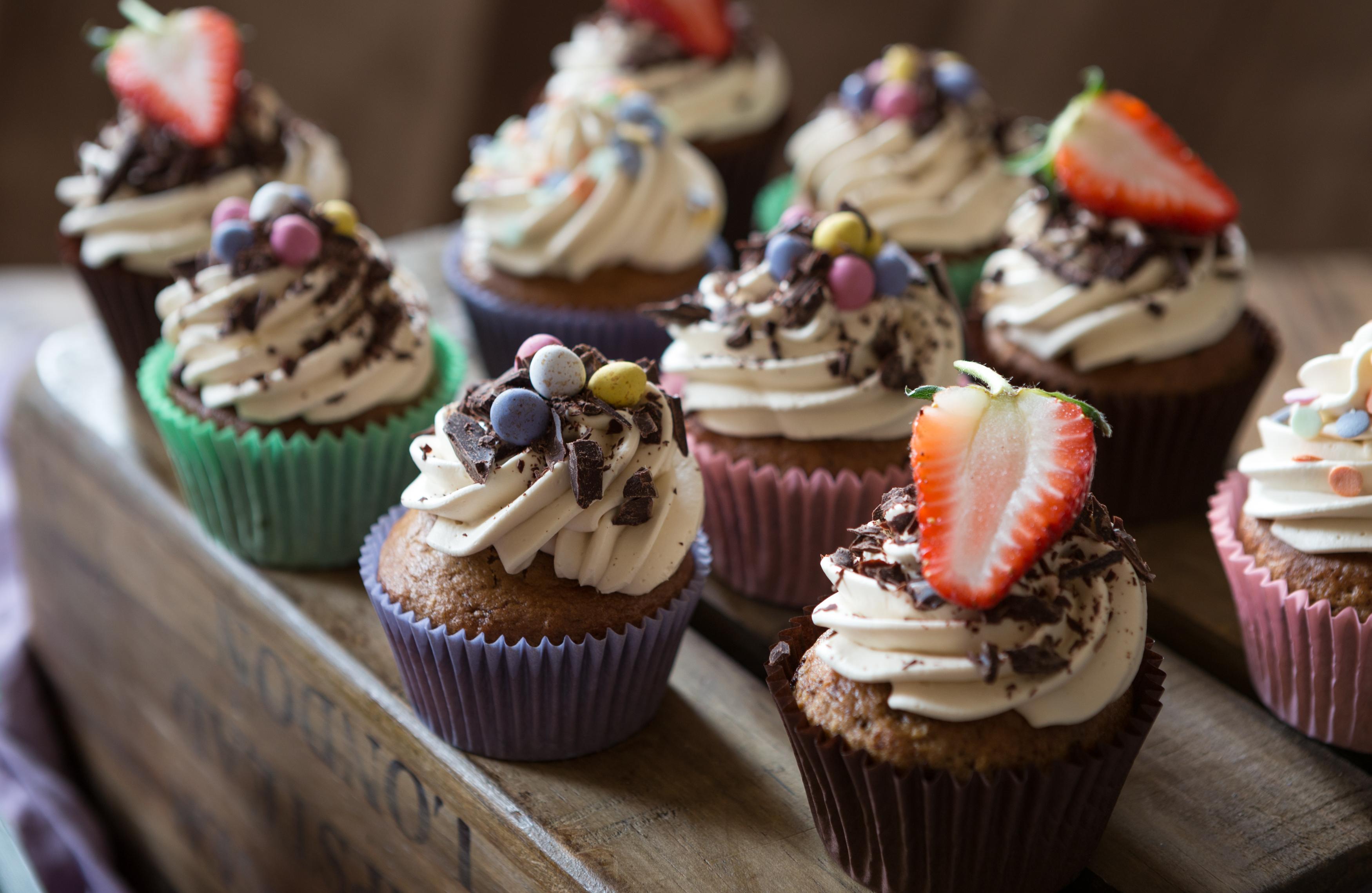 Easter Coffee & Chocolate Cupcakes Miss Tortology E17 Artisan Cakes Maya Sapone