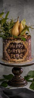 Pear & Chocolate Cake Tortology E17 Artisan Cakes London