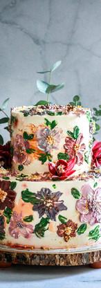 Toffee Italian Meringue Celebration Cake Tortology E17 Artisan Cakes London