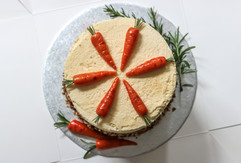 Carrot & Pecan Birthday Cake Tortology E17 Artisan Cakes London