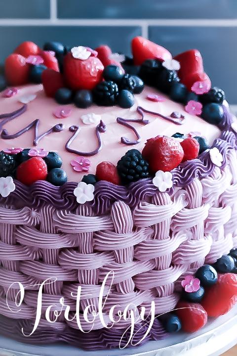 Vanilla Birthday Cake Tortology