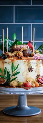 Toffee Apple Birthday Cake for Juliet. Tortology E17 Artisan Cakes London
