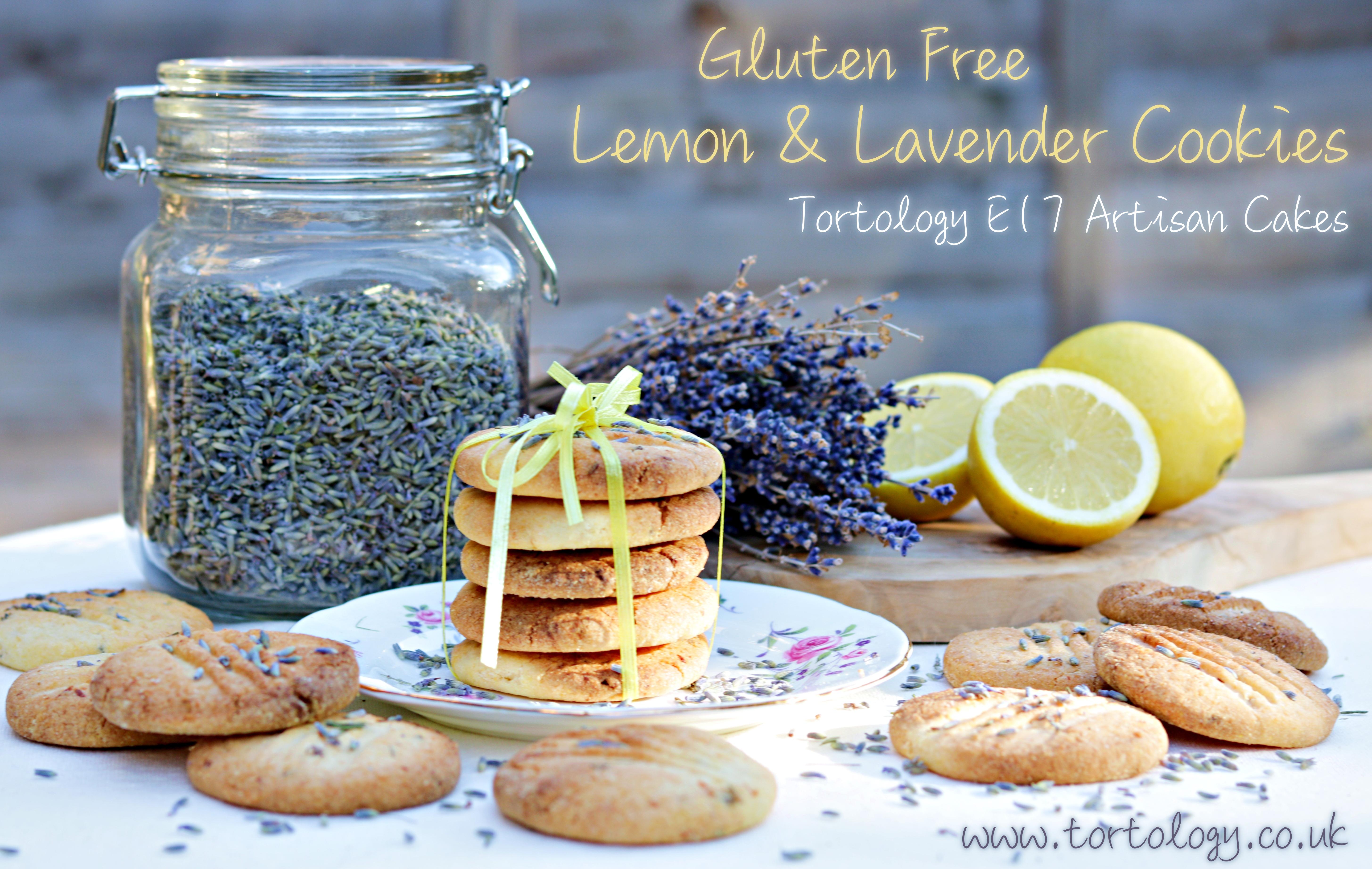 Gluten Free Lemon & Lavender Cookies Tortology Publicity Photo 2