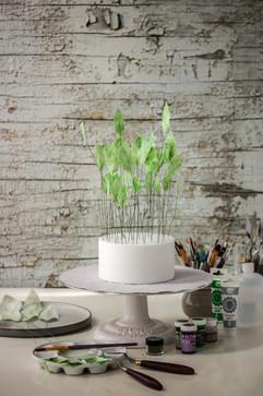 Wafer Paper Leaves for Wedding Cake decorating. Tortology E17 Artisan Cakes London