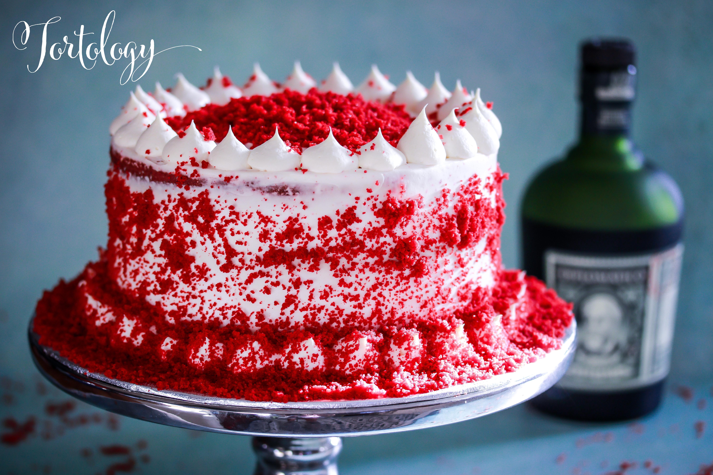 Diplomatico Rum Gluten Free Red Velvet Cake Tortology
