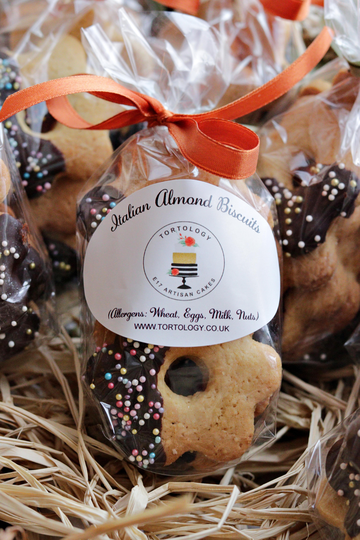 Tortology's Chocolate Almond Cookies