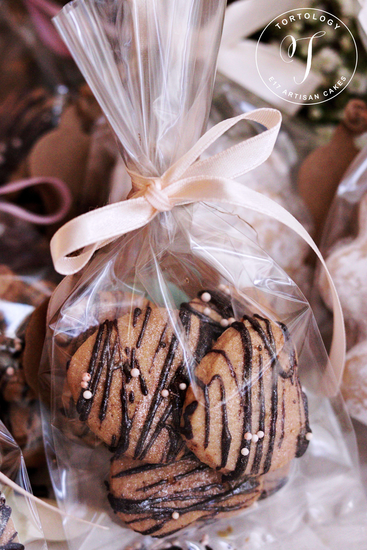 Almond Hearts Biscotti with Sugar Sprinkles Tortology E17 Artsian Cakes