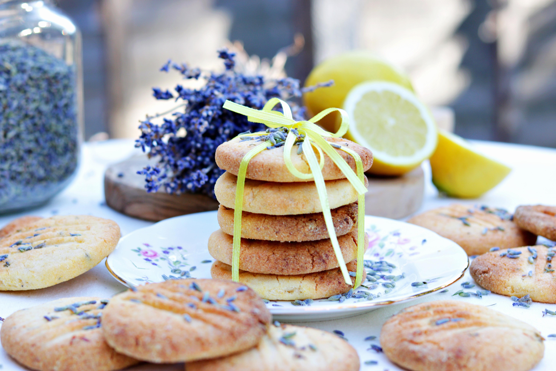 Gluten Free Lemon & Lavender Cookies Tortology