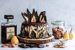 Chocolate Pear Amaretto Cake Tortology 2.jpg