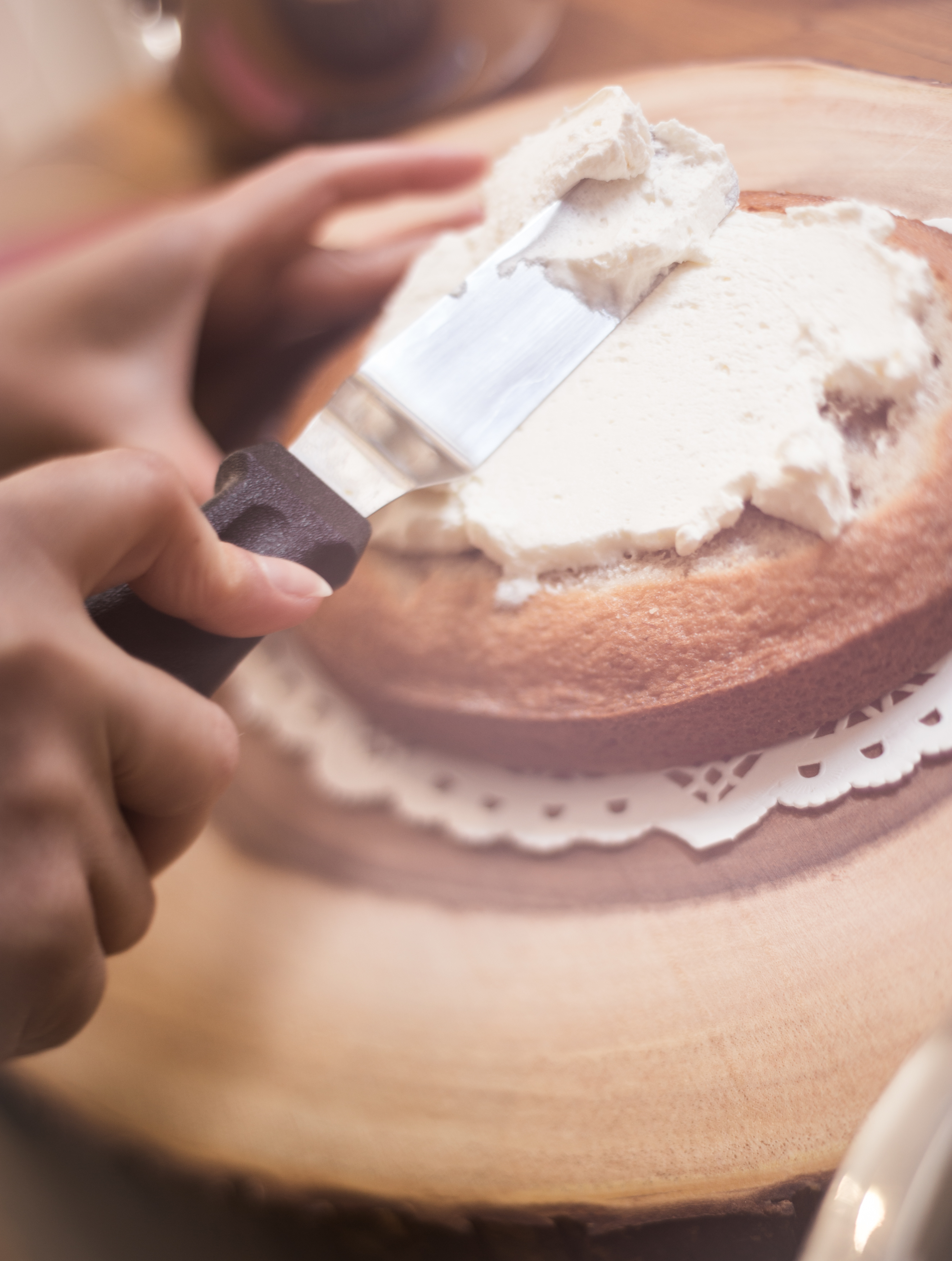 Banana Cake Mascarpone Cream Miss Tortology E17 Artisan Cakes Maya Sapone