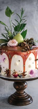 Toffee Birthday Cake Tortology E17 Artisan Cakes London