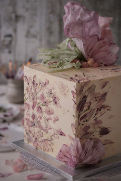 Square Wedding Cake Tortology E17 Artisan Cakes London