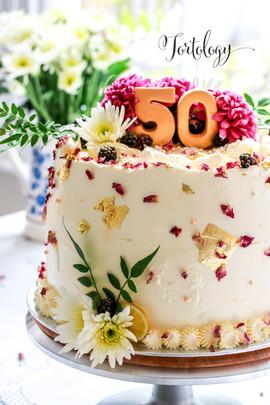 Lemon & Elderflower Celebration Cake