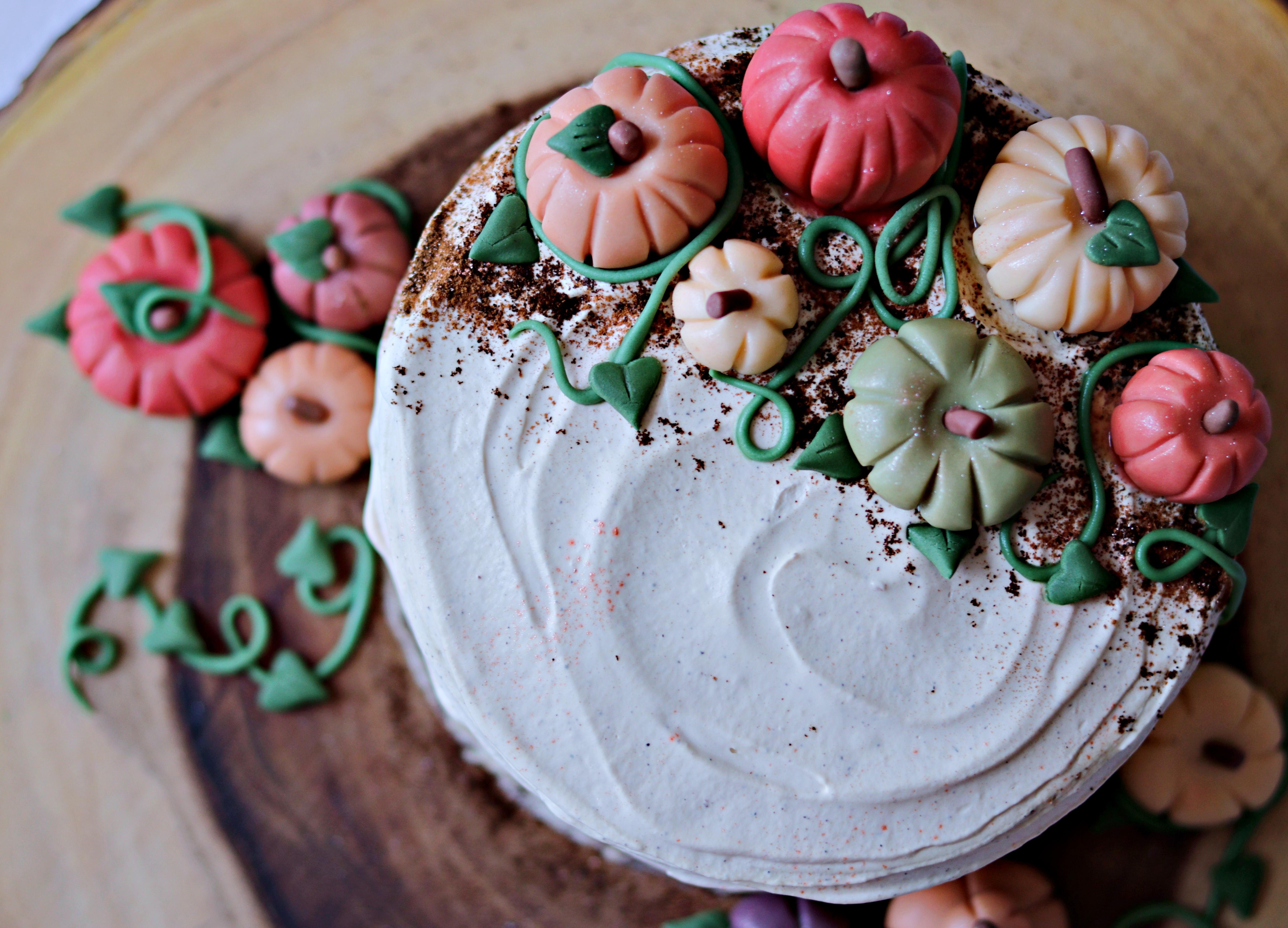 Pumpkin Spice Latte Cake Tortology 11