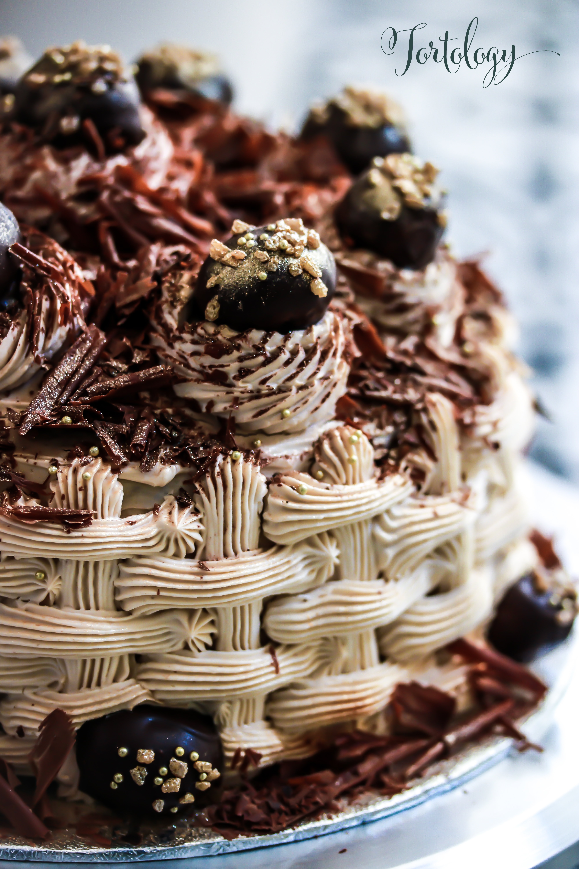 Chestnut Chocolate Cake Tortology