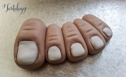 Toes for the JIGSAW Movie Severed Leg Cakes