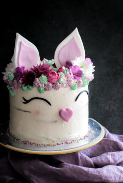 Children's Birthday Bunny Cake Tortology E17 Artisan Cakes  London