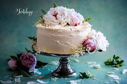Elderflower & Lemon Wedding Cake Tortology E17 Artisan Cakes