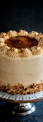 Banana Salty Caramel Birthday Cake Tortology E17 Artisan Cakes London