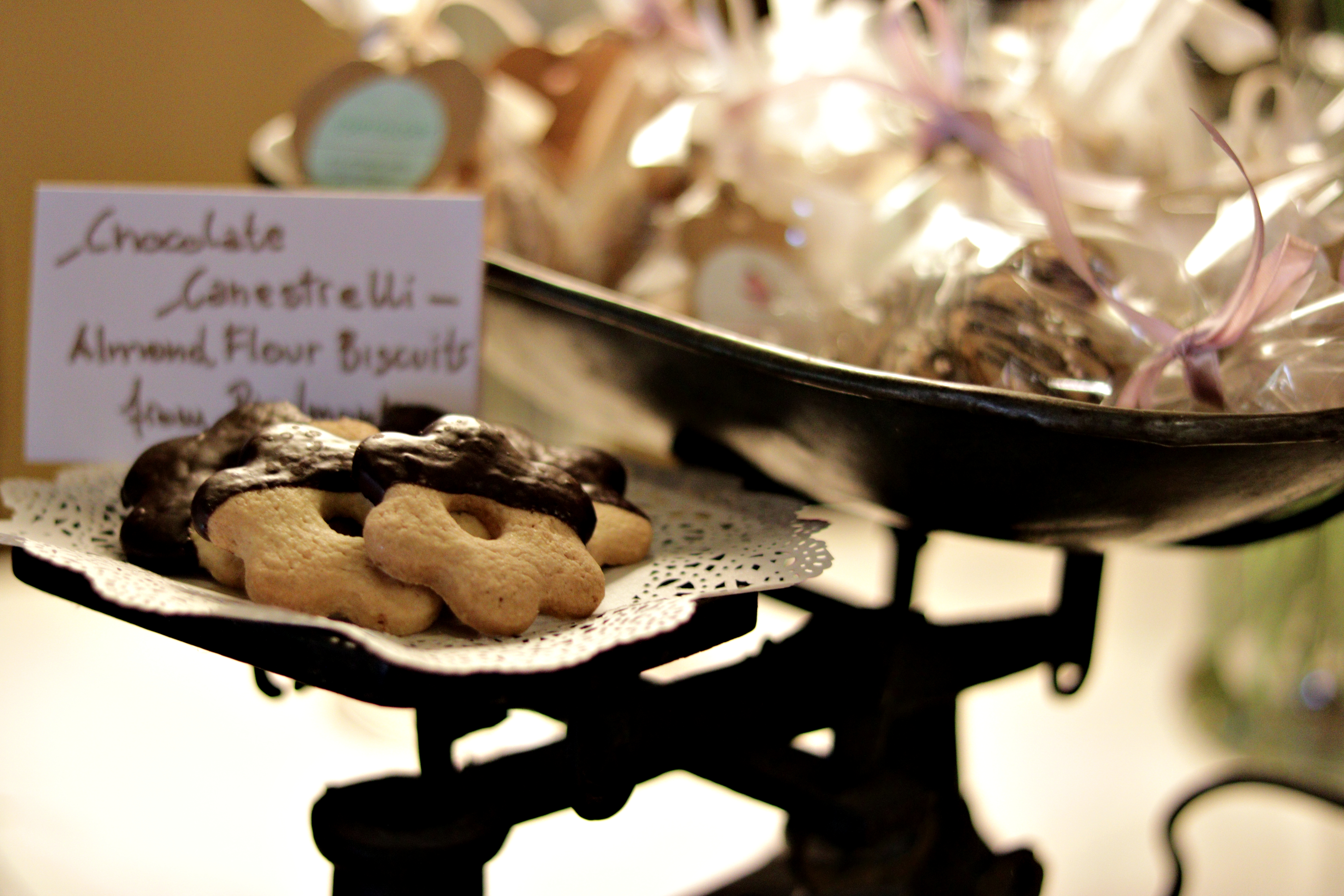 Chocolate & Almond Biscuits
