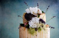 Lavender & Lemon Caramel Celebration Cake Tortology E17 Artisan Cakes London