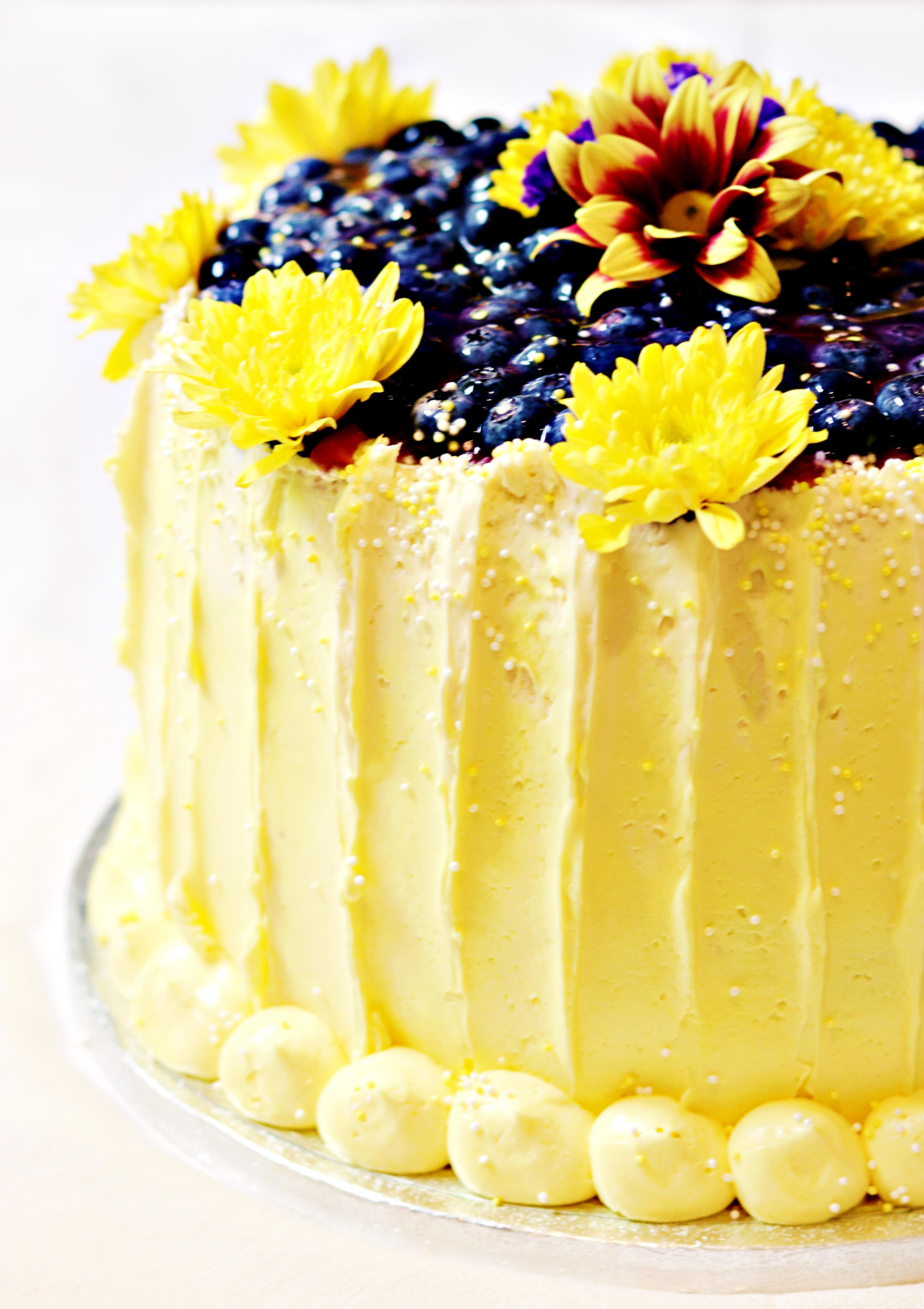 Lemon & Blueberry Cake Tortology E17
