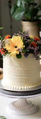 Lemon & Elderflower Birthday Cake Tortology E17 Artisan Cakes London