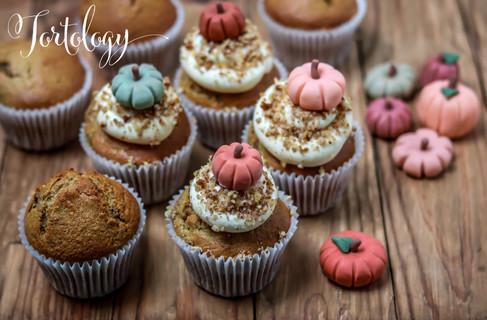 Pumpkin Spice Pecan Cupcakes Tortology E17 Artisan Cakes
