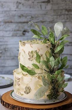 Greenleaves Wedding Cake Tortology E17 A