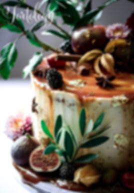 Strawberry & White Chocolate Cake Tortology E17 Artisan Cakes Walthamstow