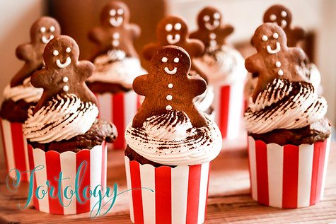 Pumpkin Cupcakes Gingerbread Cupcakes Tortology E17 Artisan Cakes