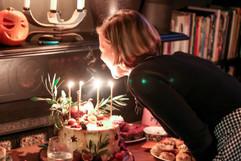 Apple Toffee Birthday Cake Juliet Blowing Candles.jpg