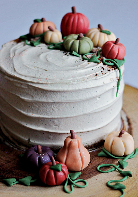 Pumpkin Spice Latte Cake Tortology