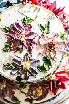 Toffee Italian Meringue Cake Tortology E17 Artisan Cakes London