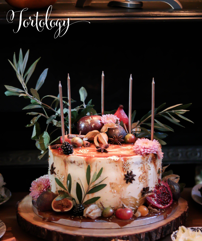 Apple Toffee Birthday Cake Juliet Home