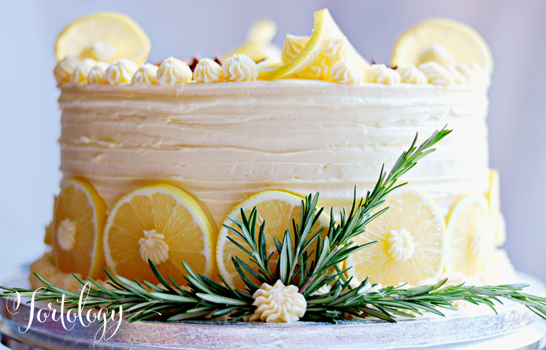Lemon Birthday Cake Tortology