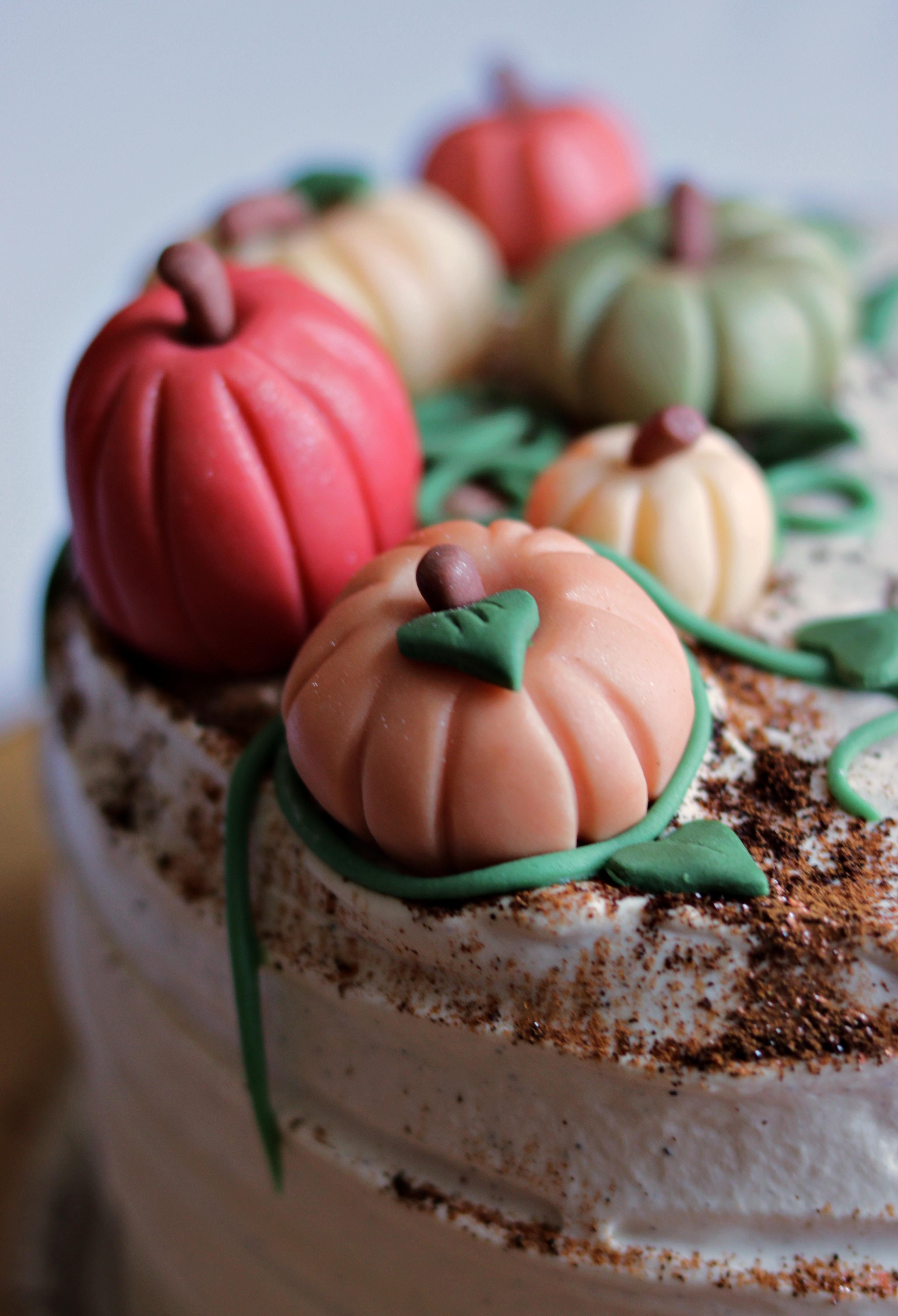 Pumpkin Spice Latte Cake Tortology 1