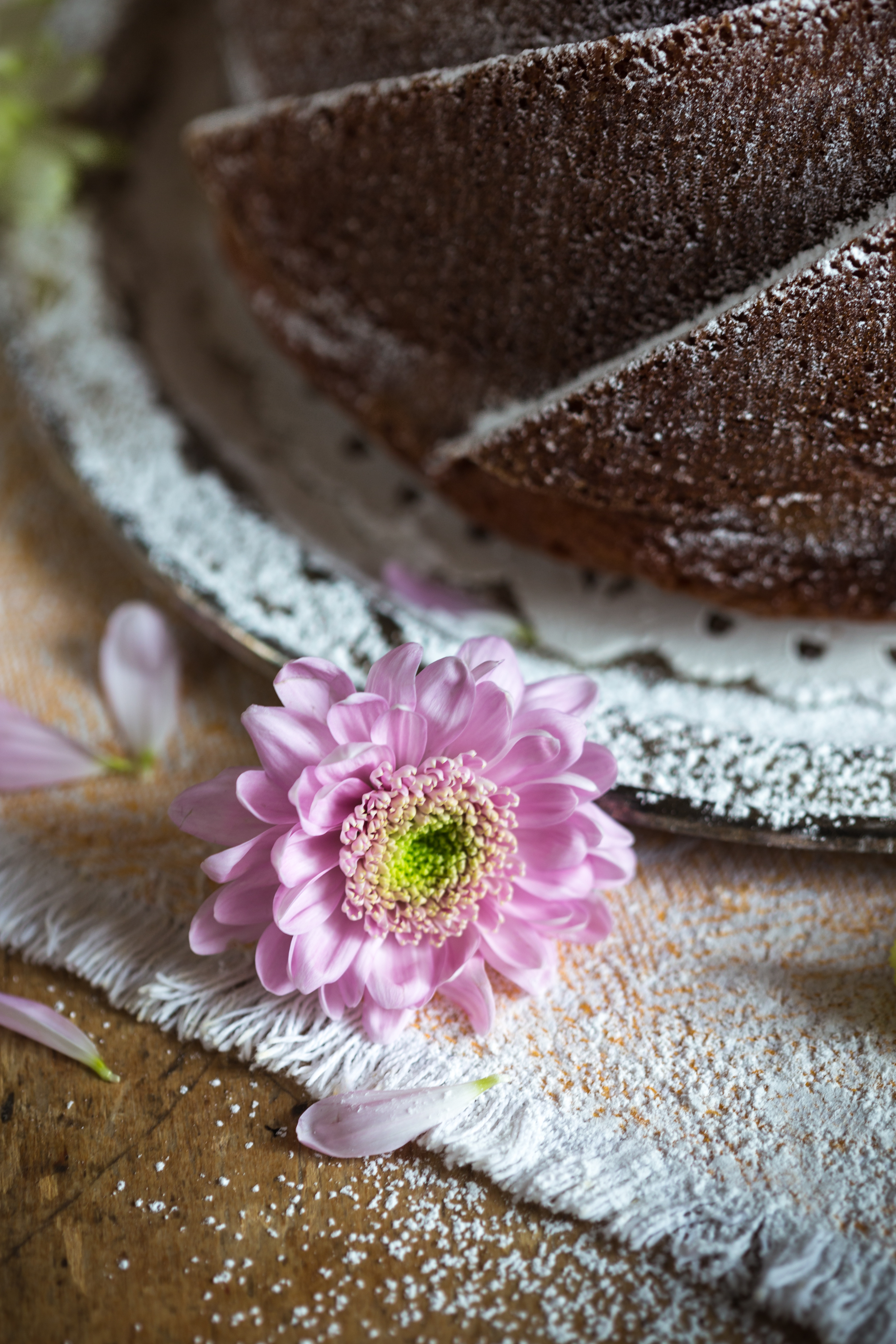 Millefiori Honey & Brandy Bundt Cake Miss Tortology