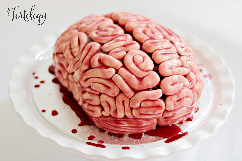 Bloody Brain Cake Tortology