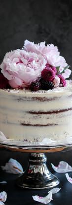 Floral Red Velvet Cake Tortology E17 Artisan Cakes London