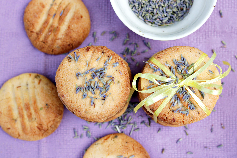 Gluten Free Lavender Cookies Tortology