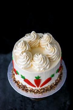 Carrot & Walnut Birthday Cake Tortology E17 Artisan Cakes London