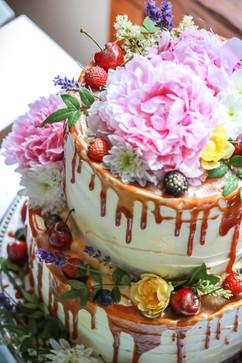 Wedding Cake Strawberry Victoria Sponge Tortology E17 Artisan Cakes London