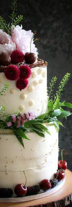 Black Forest Wedding Cake Tortology E17 Artisan Cakes London
