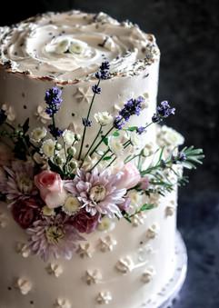 Summer Wedding Cake Tortology E17 Artisan Cakes